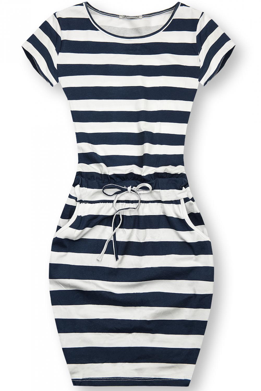 E-shop Pruhované bavlněné šaty X.