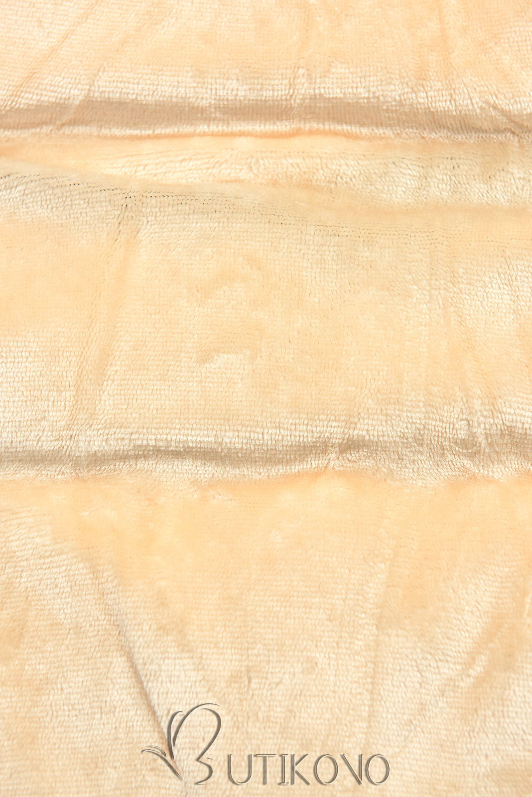 Černá-béžová zimní bunda