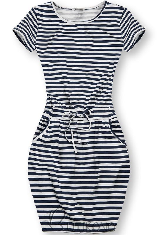 Pruhované bavlněné šaty II.