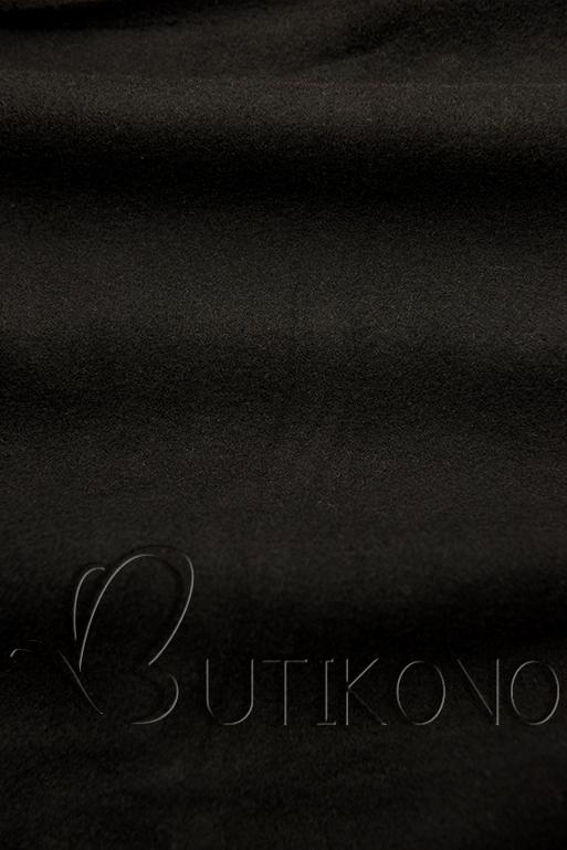 Černá prodloužená mikina od LHD
