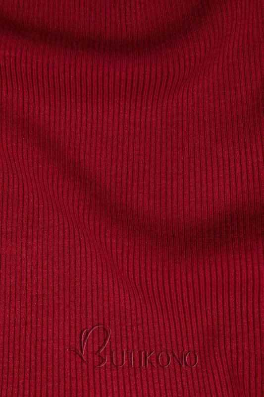 Červený krátký rolák