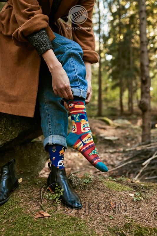 Ponožky Apač od Many Mornings