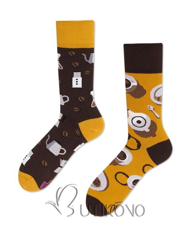 Ponožky Milovník kávy od Many Mornings