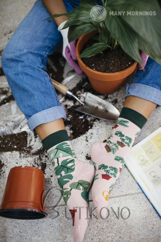 Ponožky Milovník rostlin od Many Mornings