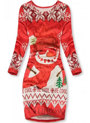 Sametové šaty BE COOL