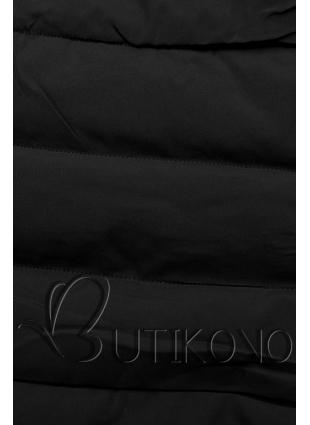 Zimní prošívaná bunda černá