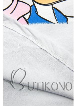Bílé tričko Paperina e Paperino