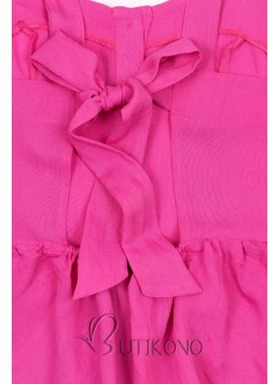 Růžový letní top