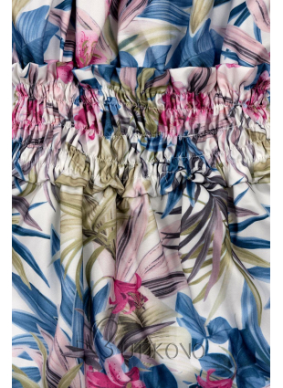 Modro-růžové šaty Serena/O'la Voga