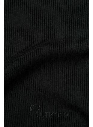 Černý krátký rolák