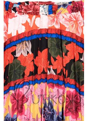 Květinová maxi sukně IV.