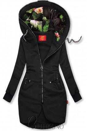 Černá dlouhá mikina