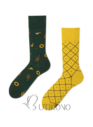 Ponožky Ananasy od Many Mornings